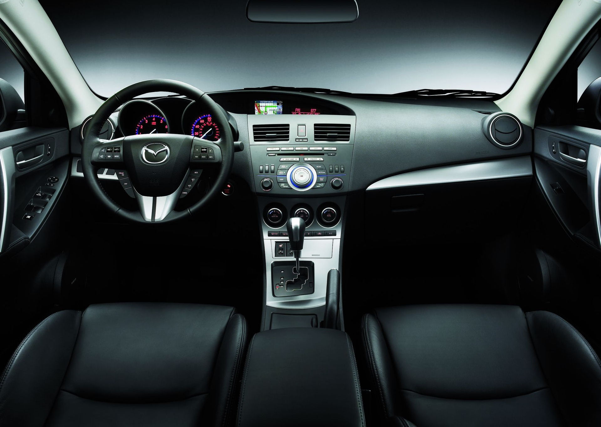 mazda 3 sedan 2009 interieur 1 mazda 3 sedan 2009 interieur image1