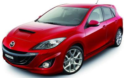 Présentation de la Mazda 3 MPS de 2010, version sportive de la compacte Mazda 3.