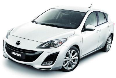 Présentation de la Mazda 3 i-Stop de 2009.